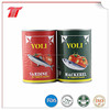 Canned sardine in oil 125g club tins