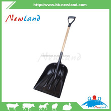 NL921 Stainless Steel Folding Shovel metal gardening hand spade snow tools agricultural grain shovel