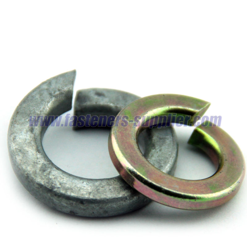 SAE Yellow Zinc Lock Washers
