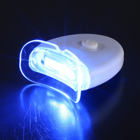 Hot sale home use mini teeth whitening led light with blue and cold light ,CE&FDA approved