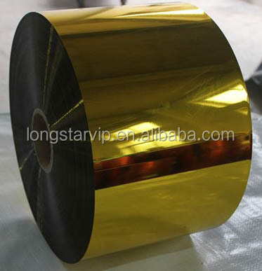 Silver/Gold Coated Metalized Mylar Film(All colors and sizes can meet)