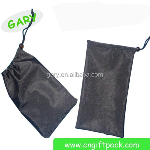 100% polyester small satin bag satin pouch with logo