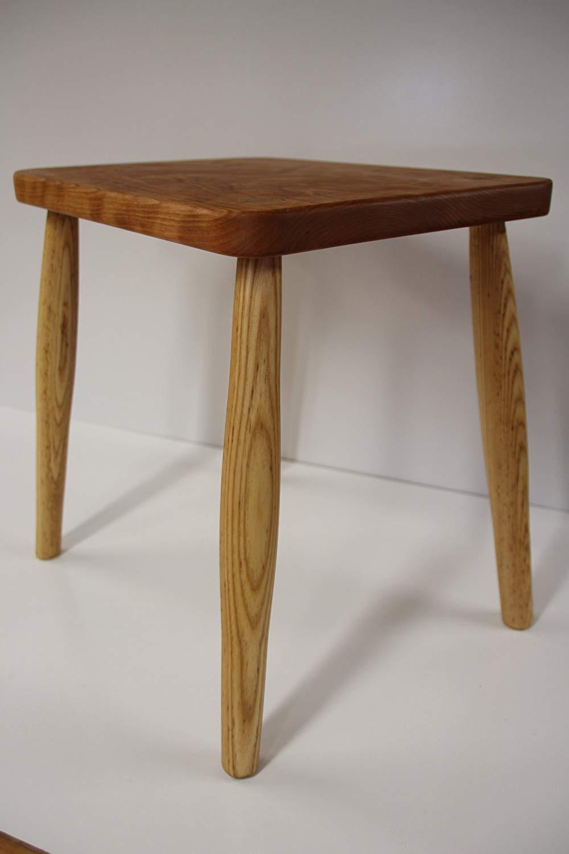 Magnificent Buy Wooden Cherry Top Ash Legs Stool Wood Stool Side Table Creativecarmelina Interior Chair Design Creativecarmelinacom