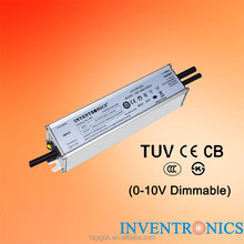 Inventronics 60W IP67 Outdoor 700mA Constant Current 0-10V Dimmable LED Driver Light Transformer Power Supply EBC-060S105DV-0007