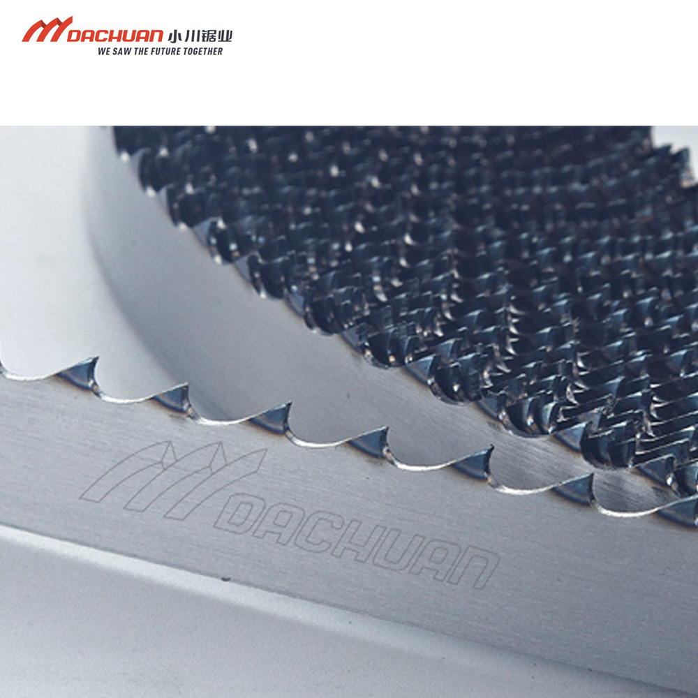 Hot sale 1740mm frozen fish meat bone <strong>cutting</strong> saw blade by welded length