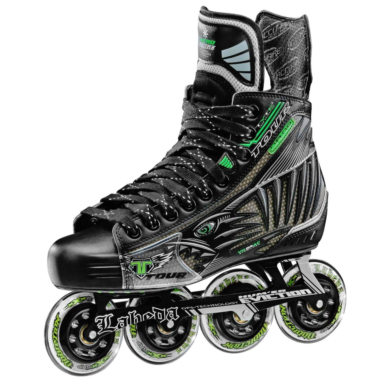 Get Quotations · Tour Fish BoneLite Pro Inline Hockey Skates (Black)  (Senior) 5f28722a7