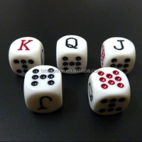 High quality fun play dice toys for board game