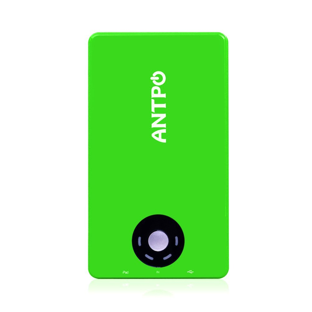 Battery1inc ANTPO 10000mAh 2 USB Output Ultra-thin Designed Portable External Battery Backup Pack, Mobile Phone Power Pack, High Capacity Portable Charger for Apple iPhone 5, iPad mini 2/1, iPad 5/4 (Lightning Cable not Provided), iPhone 4, iPad 3/2/1; Samsung Galaxy S4, S3, Galaxy Ace, Galaxy Note