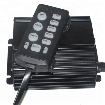 100W 150W 200W 12V Police Ambulance Firefighter Vehicle Siren Speaker Amplifier Alarm Loud Sounds Cjb 115