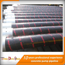 concrete pump and hose whip , concrete pump fabric hose