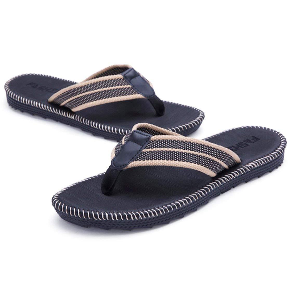 63f68d199969dc Get Quotations · STAR JOINING Flip Flops - Hawaii Flip Flops Pretty Flip  Flops Grounding Strapless Size 10 11