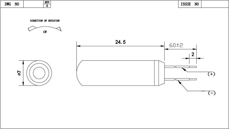 1.5v 3v 5v מיקרו רטט dc מיני מנוע עמיד למים