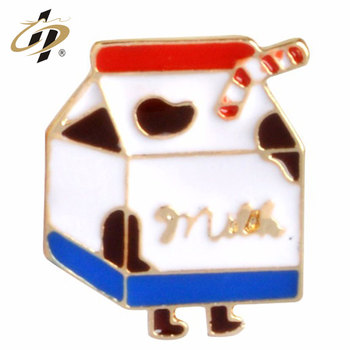 Good quality custom hamburger food enamel metal lapel pins