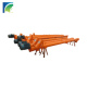 Small Scale Carbon Steel Tube Pipe Type Auger Screw Conveyor For Gravel
