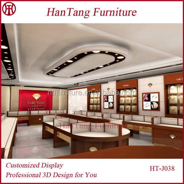 Used Jewellery Shop Interior Design With Lower Price