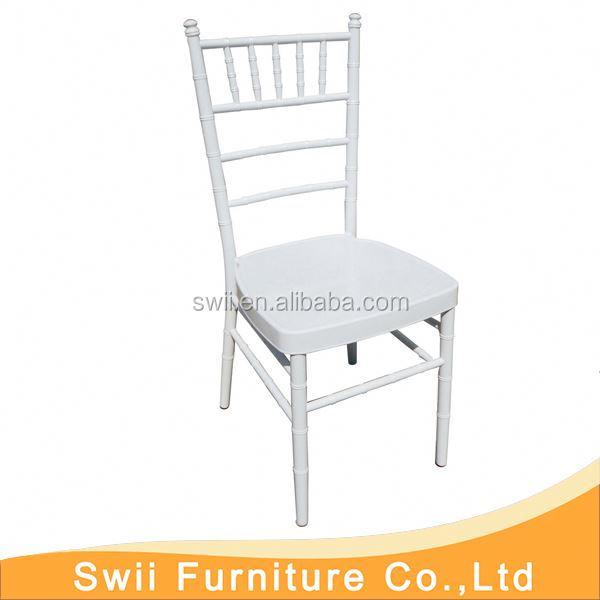 Hotel Stühle Hochzeit Aluminium Bankett Chiavari Stuhl