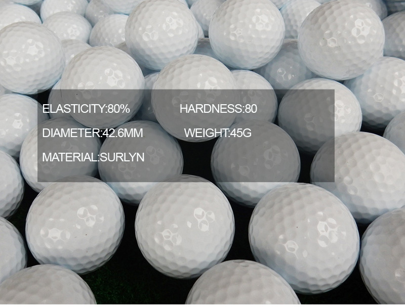 new blank white personalized 3 layers tournament golf ball