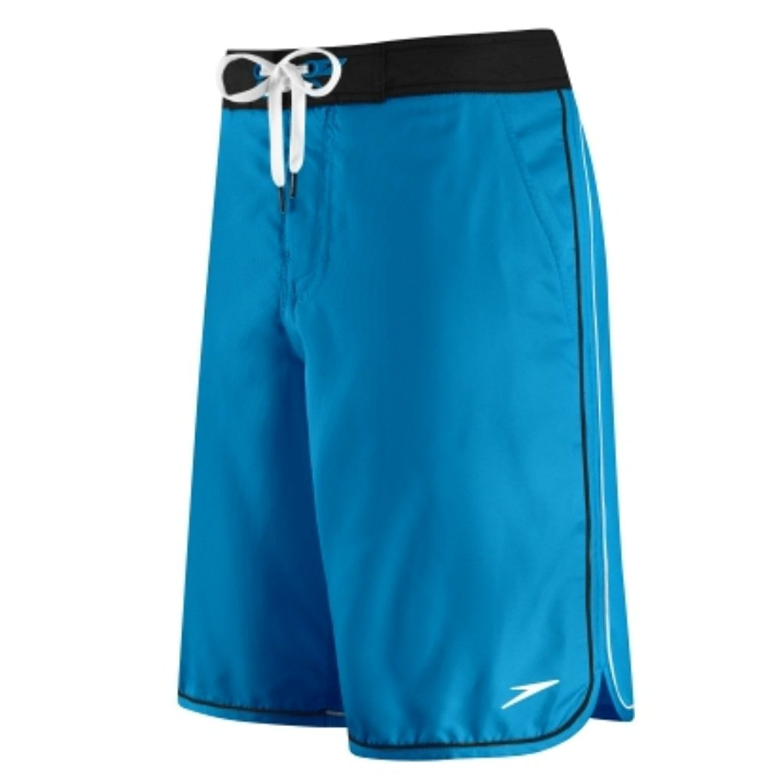 Speedo Mens Blue Riptide Board Shorts Swim Trunks