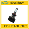 China high quality car led headlight 5202 9004 led bulbs 40w/50w 12v/24v