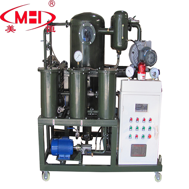 MeiHeng Double Stage High Efficiency Waste Vacuum Transformer Oil Treatment Plant