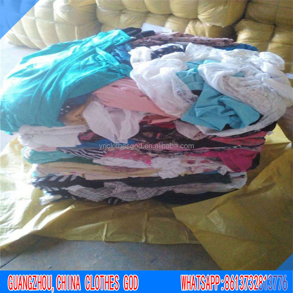 Summer second hand clothes ladies men children shirts and pants used clothing wholesale from Canada distributors