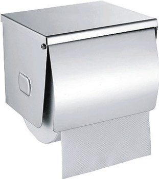 Stainless Steel Kitchen Paper Roll Holder Decorative Wall Mounted Toilet Dispenser Metal Manual Towel