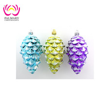 12cm Pine Cone chinese christmas decorations, japanese christmas decorations