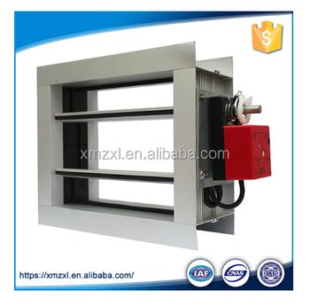Havc Project Rectangular Aluminum Electric Volume Control Air Damper - Buy  Rectangular Air Damper,Rectangular Aluminum Electric Volume Control Air