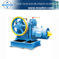 Geared Traction Motor For Lift | Geared Motors Manufacturer