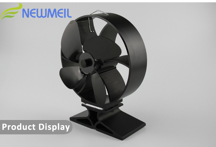 Neat 834 Wood Burning Stove Fan, High Airflow Low Noise Heat Powered Stove  Fan - Neat 834 Wood Burning Stove Fan,High Airflow Low Noise Heat