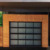 Tempered glass inserts security performance used entrance aluminum Garage door