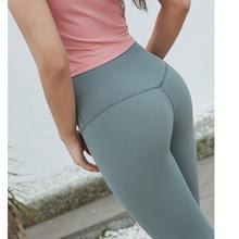 OEM hohe taille 92 polyester 8 spandex training leggings