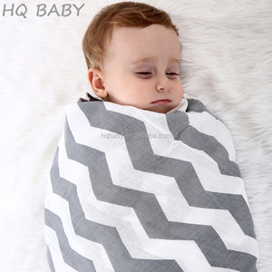 High quality super soft and breathable baby muslin swaddle blanket