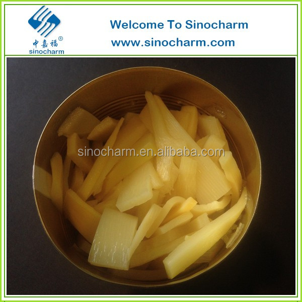 Normal Lid Canned Sliced Bamboo Shoot in water
