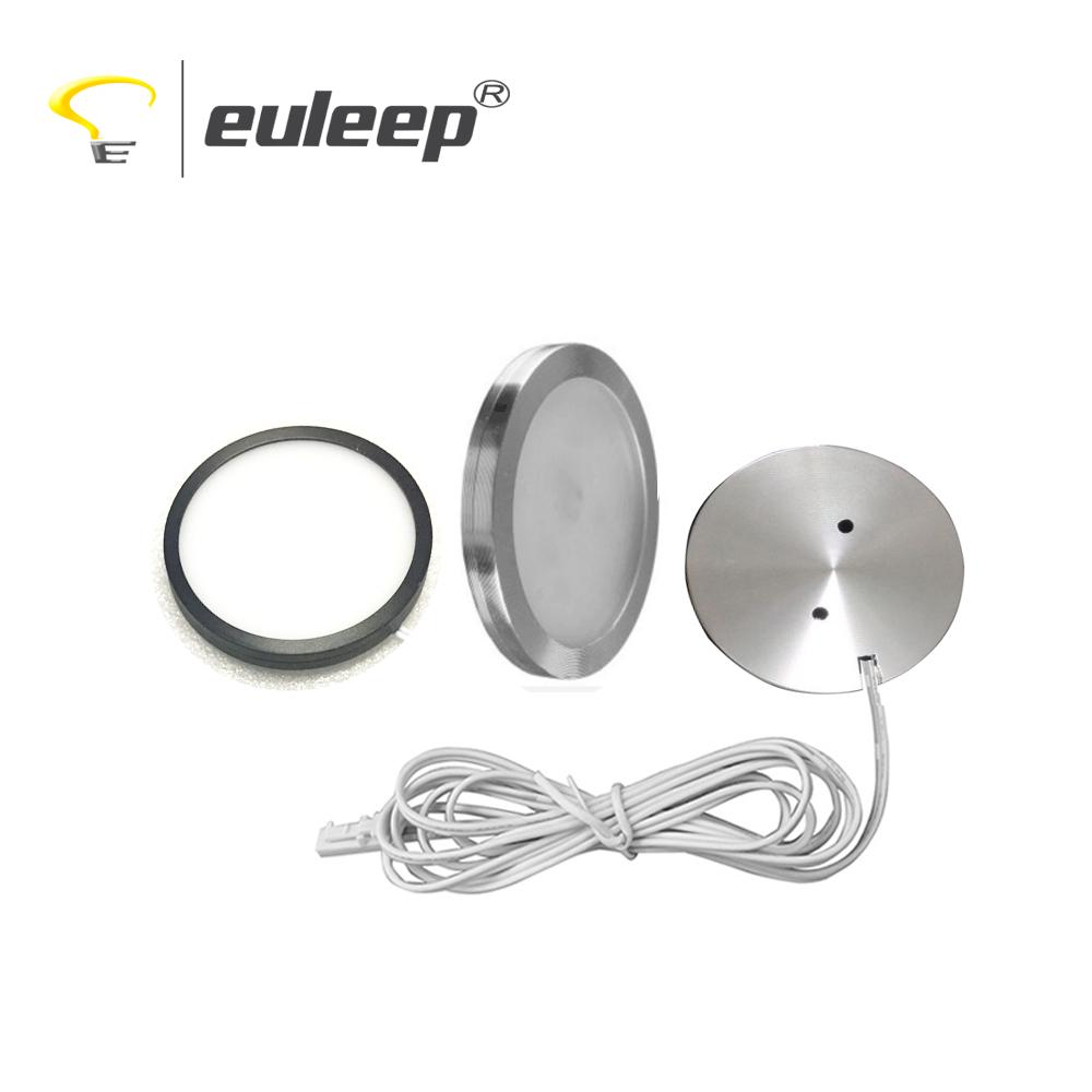 under cabinet light dc12v/24v led puck light 3000K/4000K/6000K