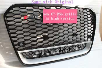 2013 2014 2015 A6 C7 Rs6 Grille For Audi A6 With Low Price High Quality -  Buy 2013 2014 2015 A6 C7 Rs6 Grille For Audi A6,2013 2014 2015 A6 Rs6  Grille