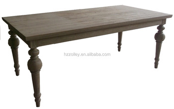 Factory Direct Old Style Top Quality Antique Carved Teak Table