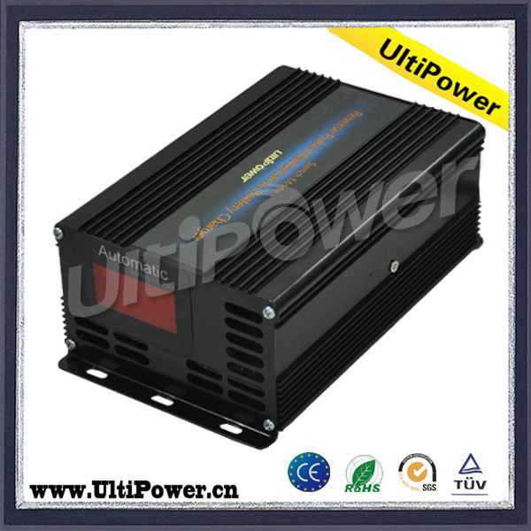 Ultipower 12V 15A automatic locomotive car battery charger