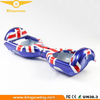 Factory Sale UK Flag Replacement Outer Cover Case Shell for 6.5 inches Smart Self Balance 2 Wheel Electric Scooter Spare Parts