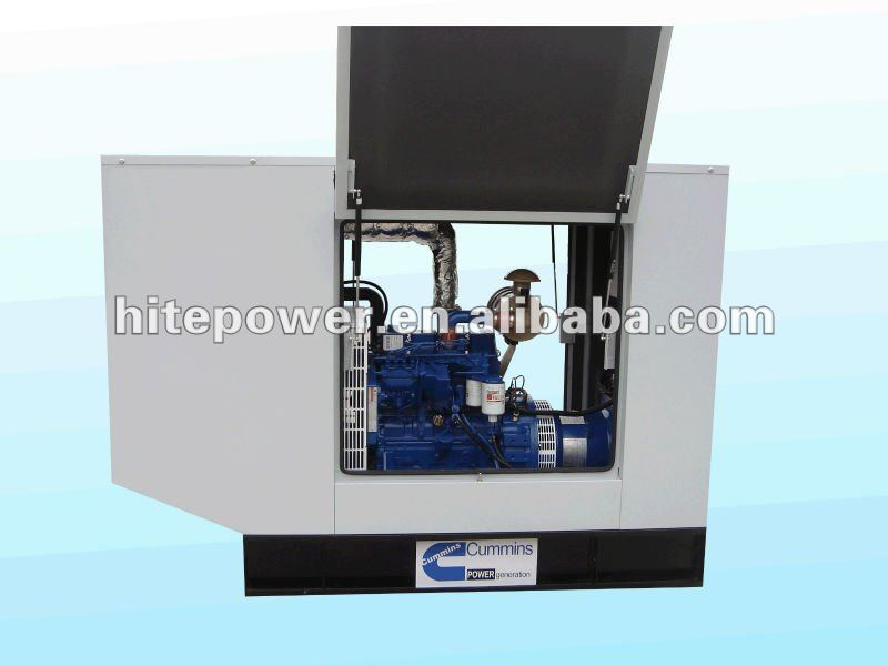 30kw soundproof diesel generating set