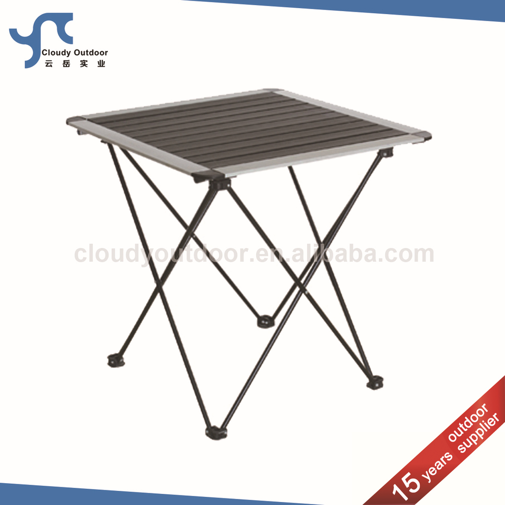 Roll Up Top Small Camping Aluminum Diy Folding Table Buy