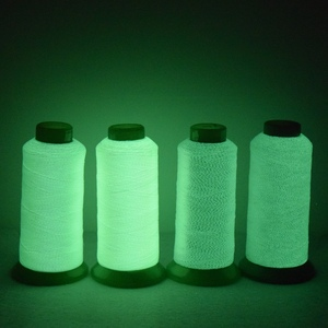 Top quality wholesale rayon embroidery luminous thread