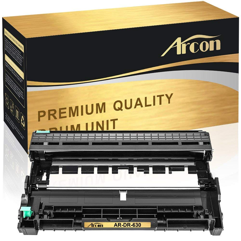 Arcon High Yield Compatible for Brother DR-630 DR 630 DR630 Black Drum Unit for Brother MFC L2740DW MFC-L2740DW HL-L2340DW HL-L2380DW MFC-L2700DW DCP-L2540DW DCP-L2520DW HL-L2300D MFC-L2720DW Printer