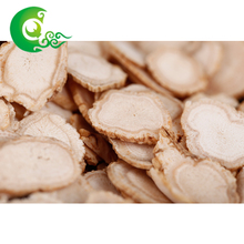 Factory wholesale dry organic wild american ginseng root slice