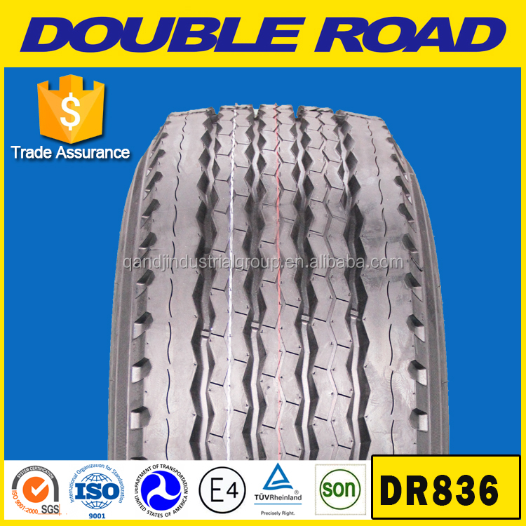 Double Road brand good quality steer and driving pattern 315/80R22.5 385/65R22.5 13R22.5 heavy truck tires