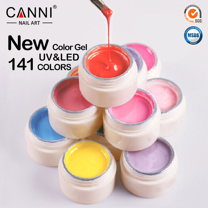 50618w Professional Gel Paint Wholesale Canni Nail Art Coloured ...