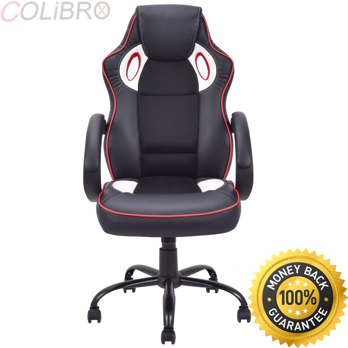 COLIBROX--Race Car Style Bucket Seat Office Chair Gaming Desk Computer Chair High Back New. high back race car style bucket seat office desk chair gaming chair.best amazon race car style office chair.