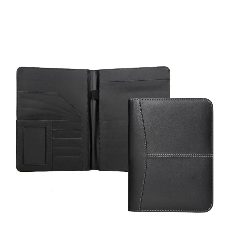 새로운 pu A4/ A5 클립 보드 파일 폴더, pu 가죽 비즈니스 서류 노트북 카드 홀더