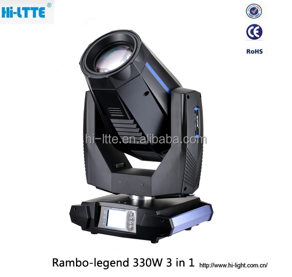 Best China beam spot wash 3 in 1 moving head lights sharpy 15R 16r Live TV Productions Field Computer Bright Lights from Hi-Ltte