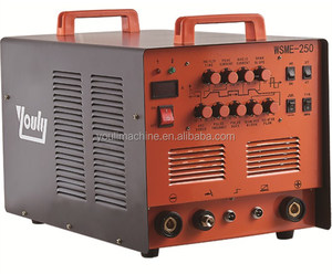 2017 Super-high cost-effective 220V 250 Amp Inverter mosfet AC/DC TIG/MMA welder/welding machine